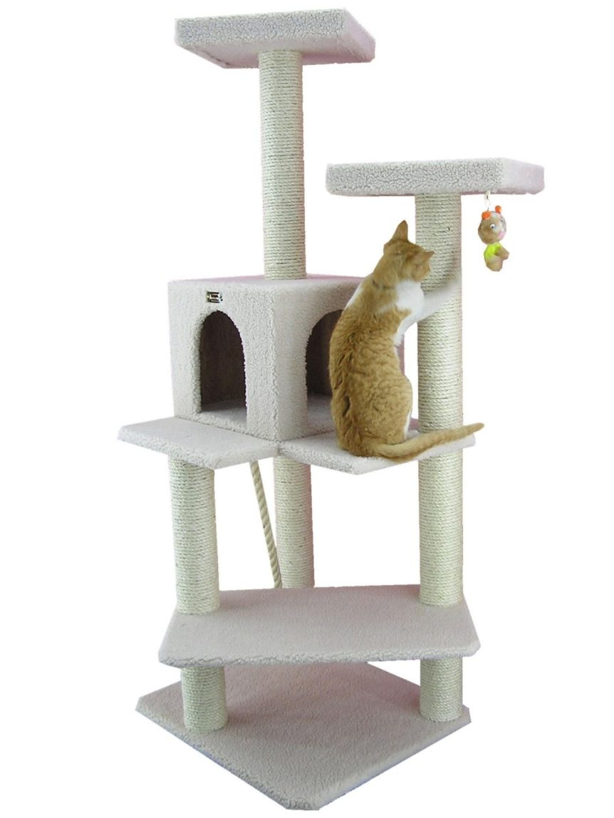 Armarkat Cat Tree Furniture Condo 50 Inch To 60