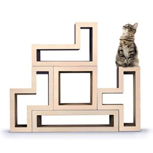 KATRIS Modular Cat Tree 5 blocks MAPLE