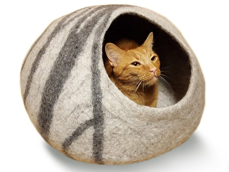 Meowfia Premium Cat Bed Cave Large