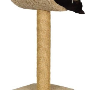 Molly and Friends Sisal Wrapped Scratching Post with Cradle
