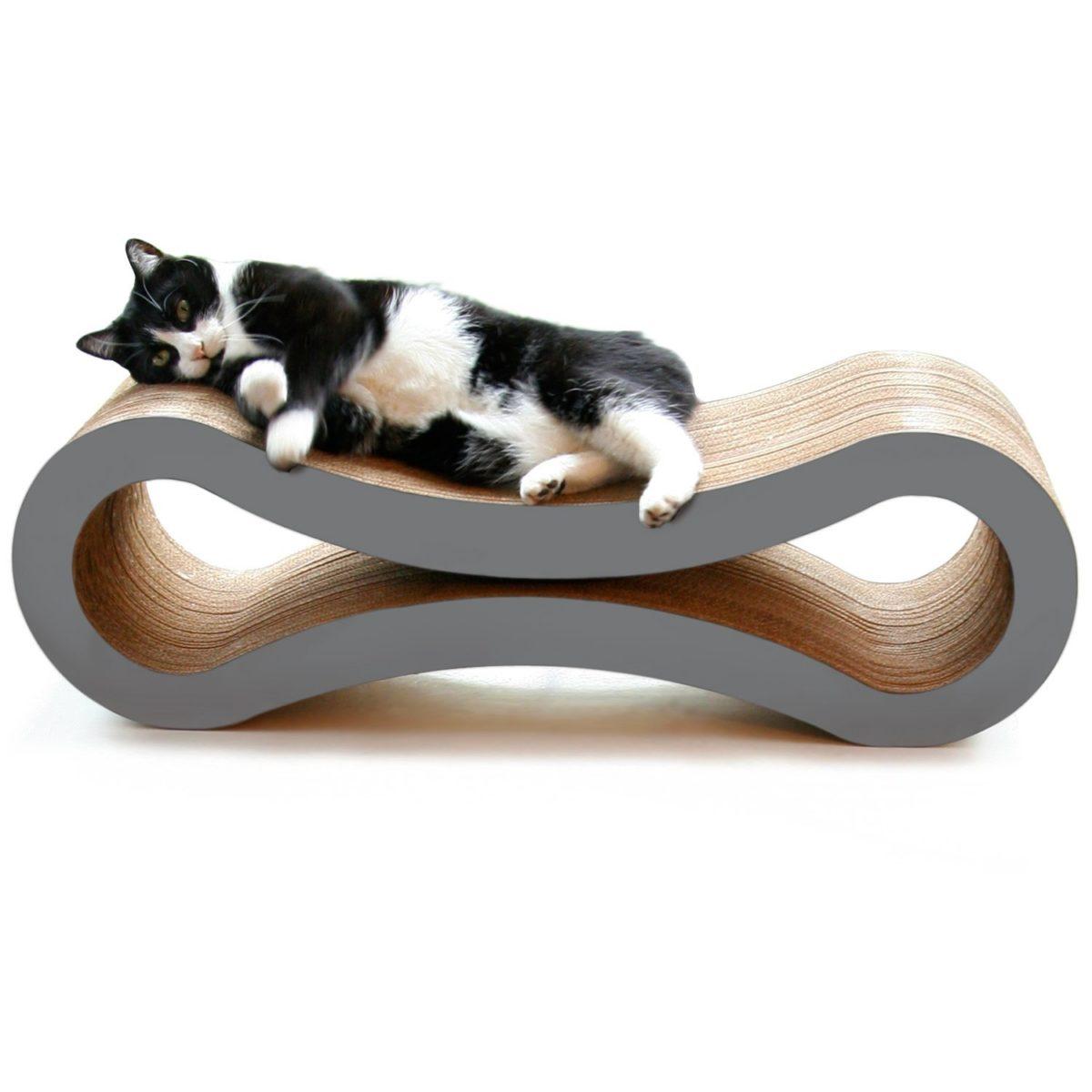 cardboad cat scratcher lounge