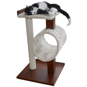 PetFusion Modern Cat Activity Tree and Scratching Post