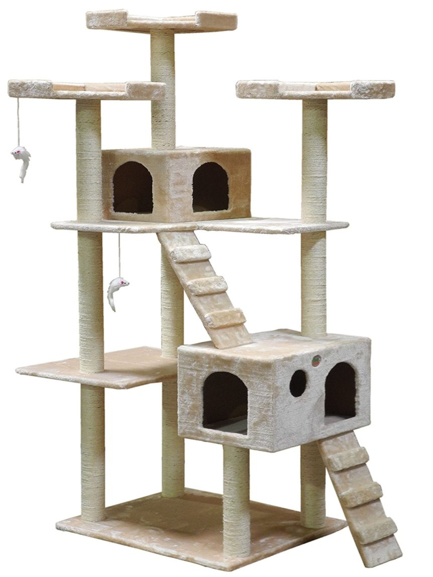 Go Pet Club 72 inch Cat Tree Condo