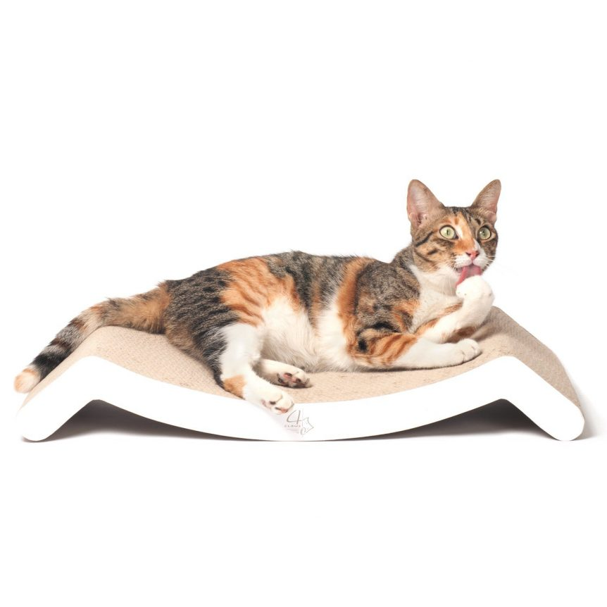 4CLAWS Scratching Lounge Bed
